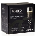 Kieliszki do szampana KROSNO Illumination 180 ml