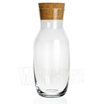Karafka z korkiem do wody, soku, wina KROSNO Basic Glass 1000ml