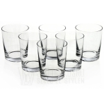 Rozchylane szklanki do whisky, soku KROSNO Basic Glass 250ml